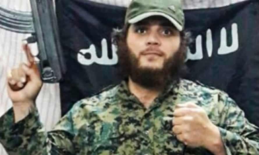 Khaled Sharrouf from an online video.