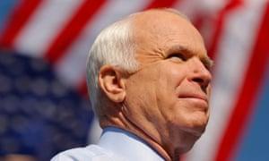 'Unaware of his country's decline': US senator John McCain.
