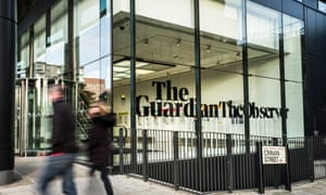 The Guardian offices in Kings Cross, London