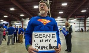 Sanders in tights?