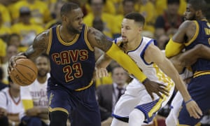 1b73a894a61f LeBron James got the better of Stephen Curry in last year s finals but the  Cavaliers will