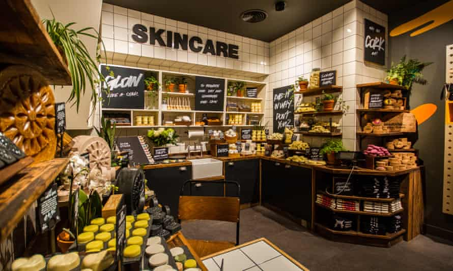 Lush store in Manchester, one of 446 around the world.