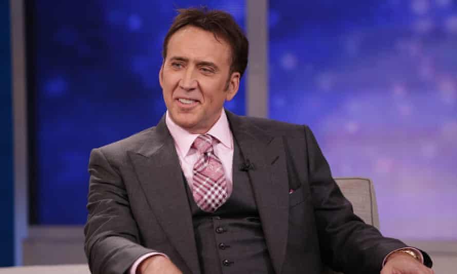 Nicolas Cage: the man who has everything.