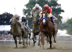 Justify Reigns Supreme In Belmont To Become 13th Triple