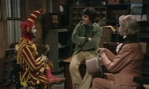 The original cast of Rentaghost (l-r): Michael Staniforth as Timothy Claypole, Anthony Jackson as Fred Mumford and Michael Darbyshire as Hubert Davenport