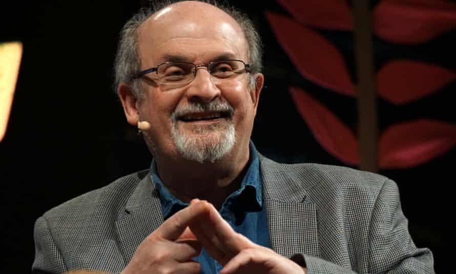Salman Rushdie at the Hay festival