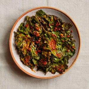 Zoe Adjonyoh's suya-spiced roast vegetables.