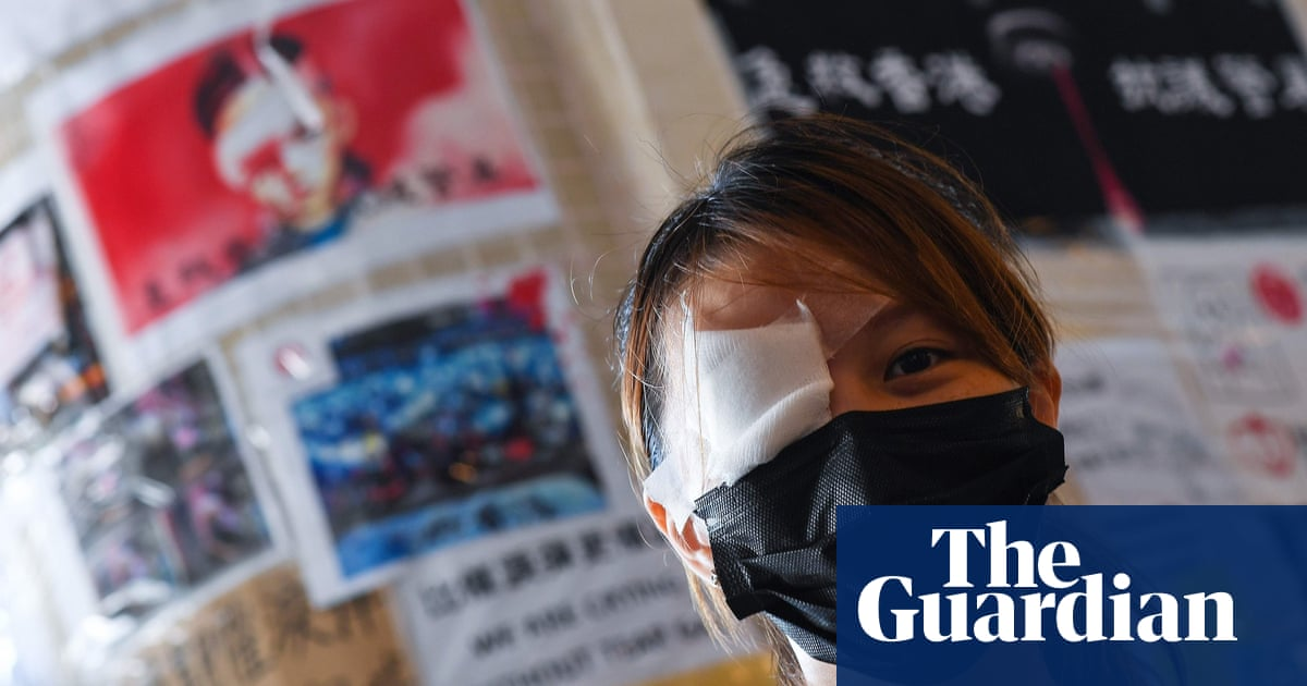 An Eye For An Eye Hong Kong Protests Get Figurehead In