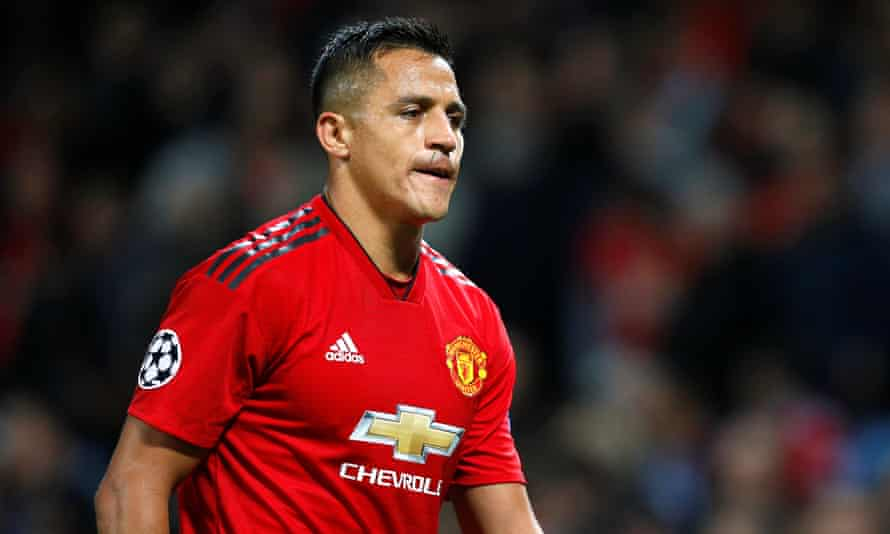 Alexis Sánchez joined Manchester United in January 2018 and has scored only three goals in 32 league games for the club