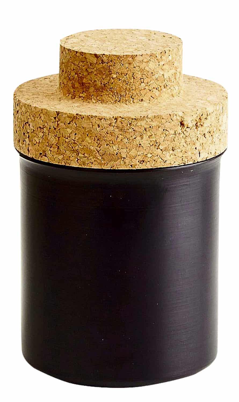 Darkroom stepped lid storage jars
