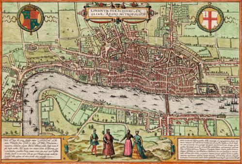 London, Fertile England's Capital City