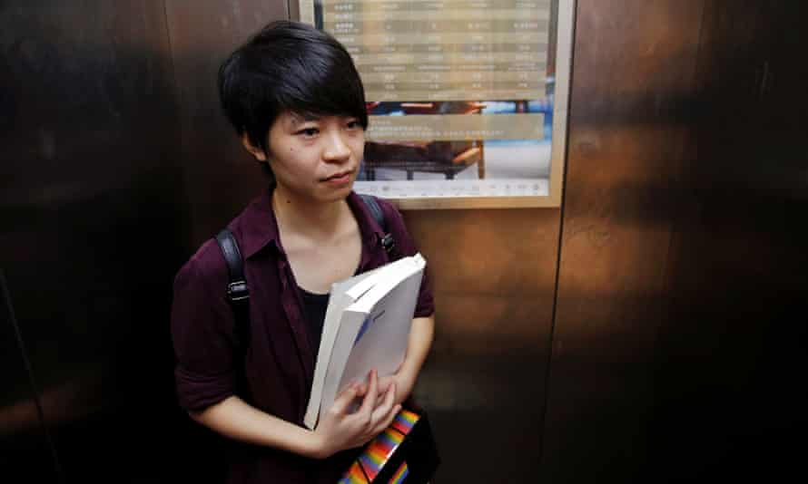 Qiu Bai wants textbooks that refer to homosexuality as a mental disorder to be removed from schools.