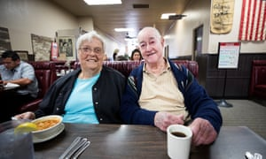 Doc Bandy and his wife Mary Bandy: 'If they behave themselves they're welcome to stay.'