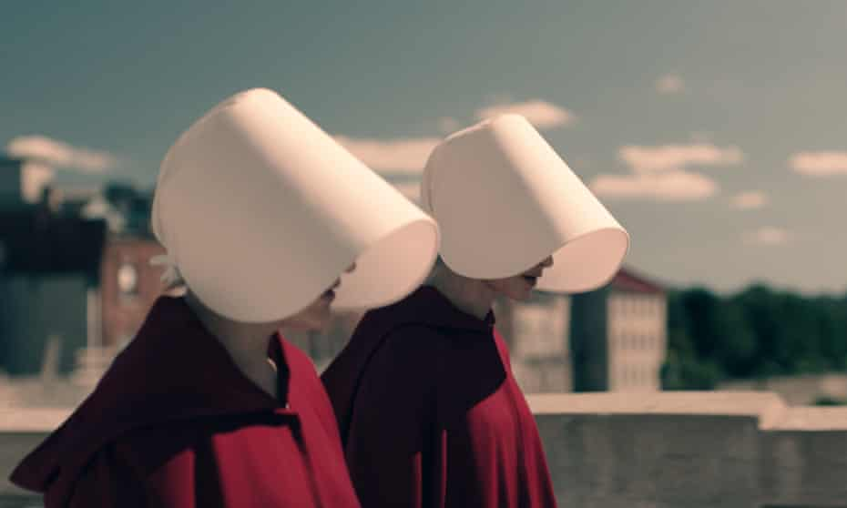 Sharp feminist message … the TV adaptation of Margaret Atwood's The Handmaid's Tale.