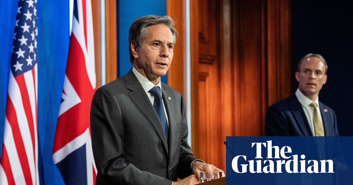 UK and US urge G7 to ally against threats from Russia and China
