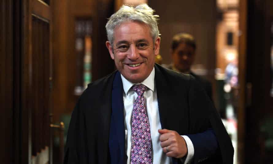 Former Speaker of the House of Commons John Bercow.