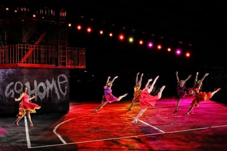 Opera Australia's Handa Opera on the Harbour production of West Side Story, 2019.