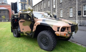 Hawkei combat vehicle