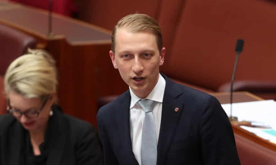 Liberal senator James Paterson