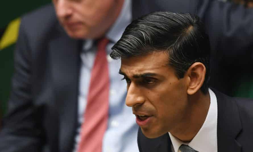 UK chancellor, Rishi Sunak