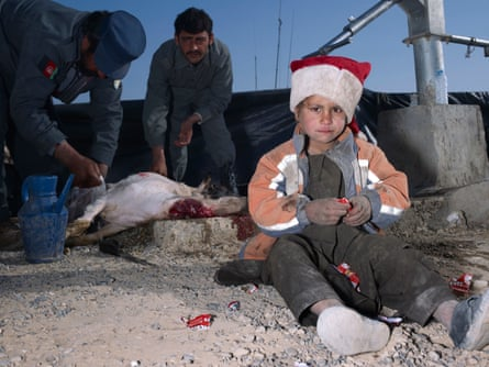 Christmas Day in Helmand Province, Afghanistan, 2010.
