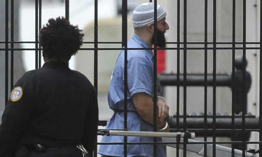 Adnan Syed enters Courthouse East in Baltimore prior to a hearing in 2016.