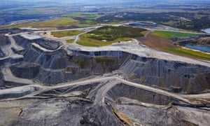 NSW authorities have proposed Glencore's Wambo coalmine only export to countries that have signed the Paris agreement. Stock photo of Hunter Valley mine