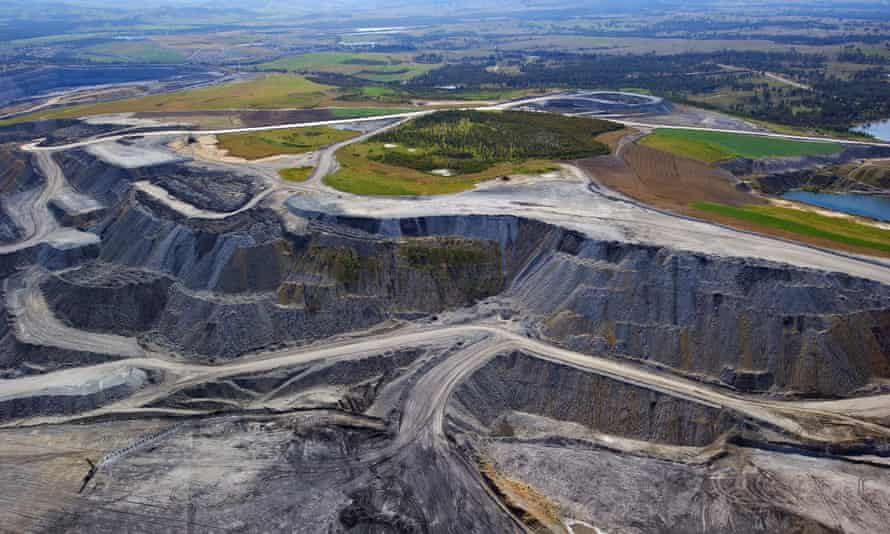 Coalmine in the Hunter Valley.