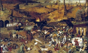 A detail from Pieter Bruegel the Elder's The Triumph of Death (c1562): 'Epidemics have never stopped being a fact of life and death for hundreds of millions of people.'