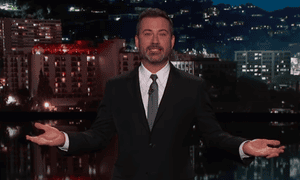 'We thought yesterday was the craziest day of this ridiculous presidency'...Jimmy Kimmel