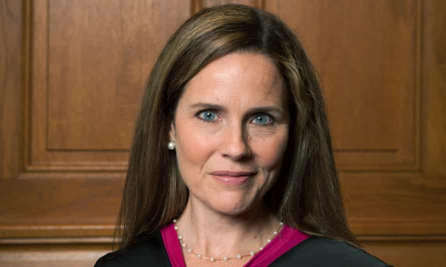Amy Coney Barrett was nominated to the Chicago-based seventh US circuit court of appeals by Trump in 2017.