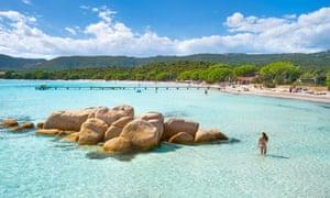 Corsica Island - Santa Giulia Beach, Porto-Vecchio, France