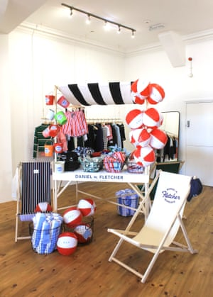 Shore thingsOh we do like to be beside the seaside… Head down to Margate to visit Daniel W Fletcher's eight-week pop-up shop on the seafront. The basement space will be used for quilting and arts workshops, queer book-club meets, poetry readings and other events in partnership with local artists and businesses. As well as his new collection you can pick up beach balls, swim shorts and frisbees – all made from recycled plastic. And not forgetting the obligatory stick of rock. danielwfletcher.com