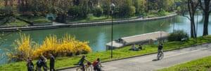The Po in Turin