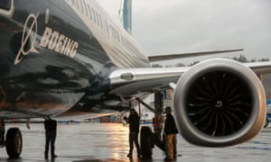 Boeing's 737 Max. The company has announced it will shed 4,000 workers.