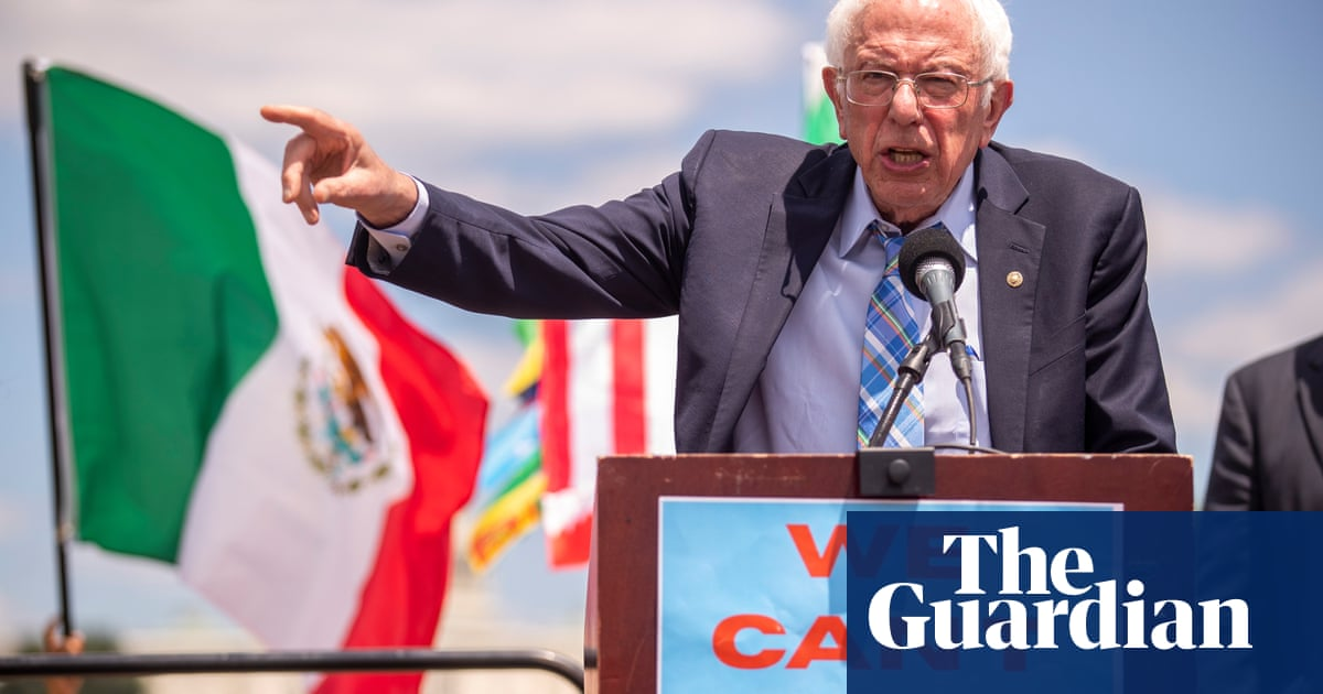 Bernie in Trumpworld: Sanders visits 'imperative if democracy is to survive'