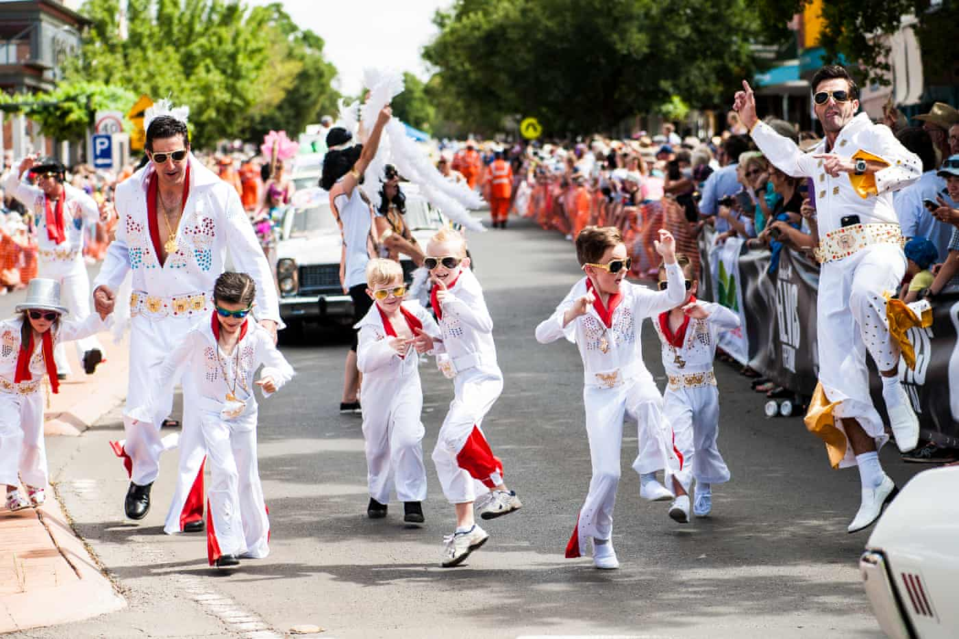 I thought the Elvis fan festival would be funny. It cracked me open and changed my life