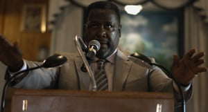 Wendell Pierce plays the pastor in Burning Cane.