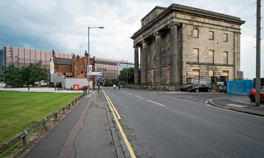 Curzon Street station, Birmingham, which is being refurbished and will form part of the HS2 terminal.
