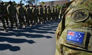 Australian defence force personnel