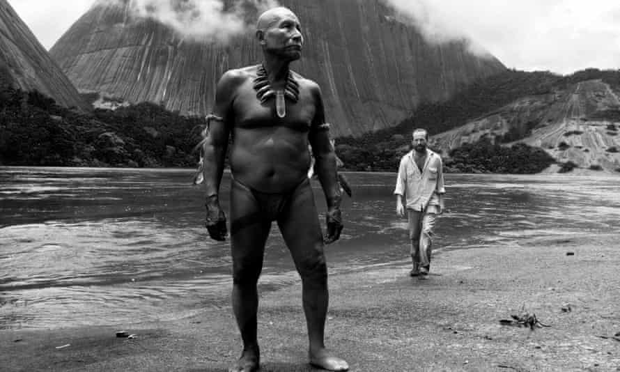 Antonio Bolívar, left, as the older Karamakate in Embrace of the Serpent.
