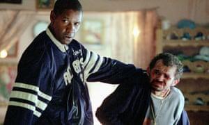 Denzel Washington and Gero Camilo in Man on Fire.