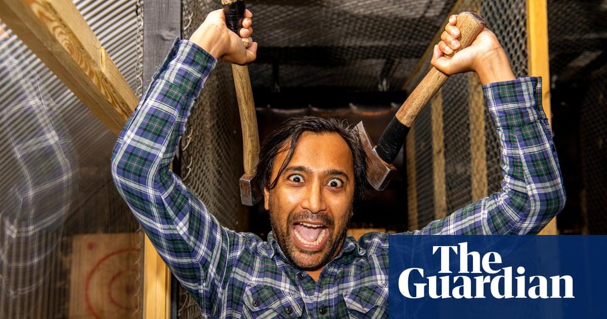 Rhik Samadder tries… urban axe throwing: 'Bullseye! I feel powerful'