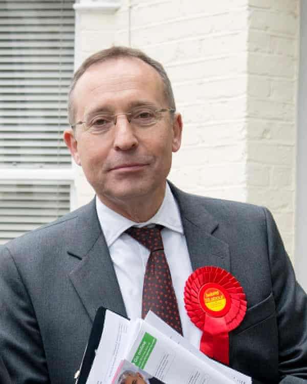 Andy Slaughter, Labour MP for Hammersmith.