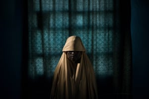 People – stories category, first prize. Aisha, 14, pictured in Maiduguri, Borno state, Nigeria. Aisha was kidnapped by Boko Haram and assigned a suicide bombing mission. After she was strapped with explosives, she managed to find help instead of blowing herself and others up