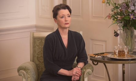 Lesley Manville as Cyril in Phantom Thread.