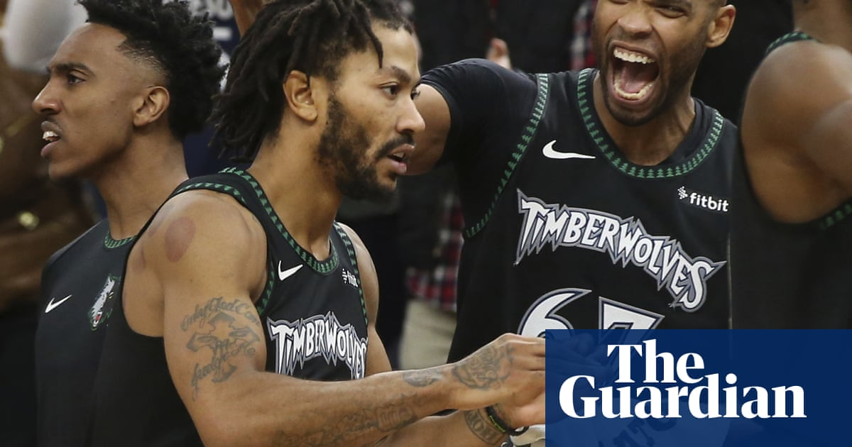 0406f21e99c Derrick Rose left in tears after career-high 50 points in Timberwolves win