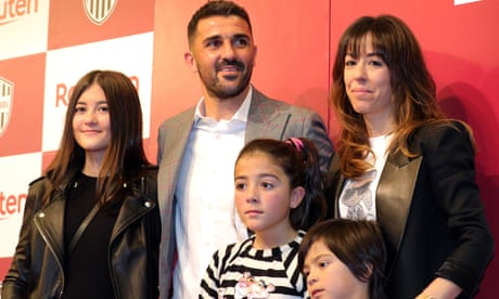 David Villa to retire: 'It's better to leave football before football leaves me'