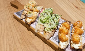 'The £16 price tag for this is on the utterly shameless side of enthusiastic': cicchetti.