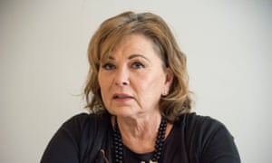Roseanne Barr … her sin is not equivalent to Gunn's.